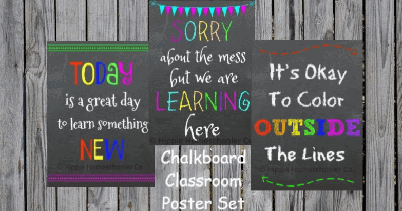 picture about Printable Classroom Posters identify Printable Clroom Posters - Homeschool Printables for Free of charge