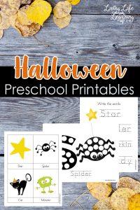 Preschool Halloween Printables