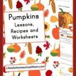 Printable Pumpkin Unit Study
