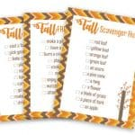 Printable Fall Family Fun Pack