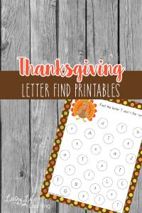 Find the Letter Fall Printable