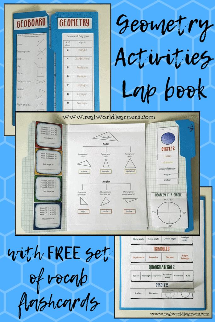 Geometry Activities Lapbook