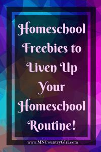 ❁ Homeschool Freebies!