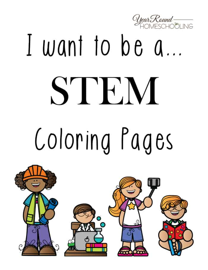 stem coloring pages Free STEM Coloring Pages   Homeschool Printables for Free stem coloring pages