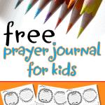 Free Prayer Journal For Kids