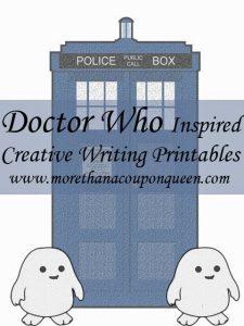 Doctor Who Creative Writing Printable