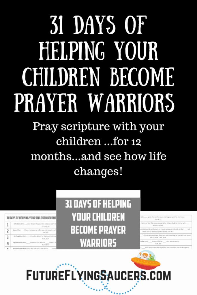graphic regarding Warriors Schedule Printable identified as Prayer Warrior Printable - Homeschool Printables for Free of charge