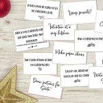 Printable Advent Calendar Activity Cards