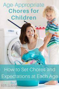 Printable Chore Lists