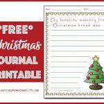 Christmas Journal Printable