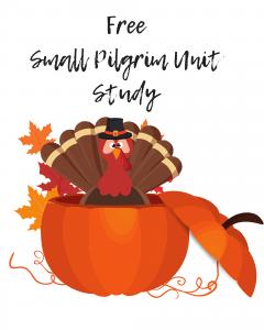 Printable Pilgrim Unit Study