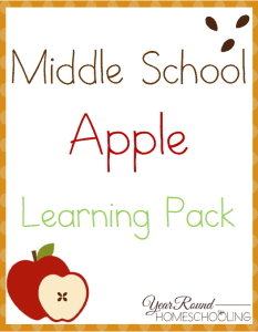Middle School Apple Theme Pack