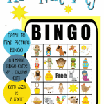Printable Nativity Bingo