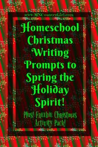 Christmas Writing Prompts & Printables