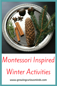 Montessori Winter Activities and Printables