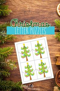 Printable Christmas Letter Puzzles