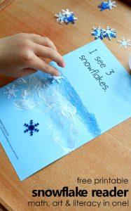 Free Printable Snowflake Reader
