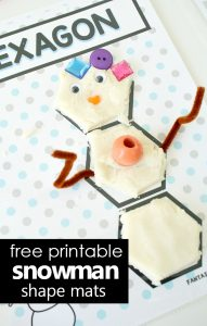 Printable Playdough Shape Mats
