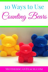 Free Counting Bears Word Problems