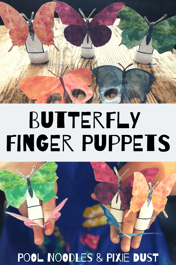 Free Butterfly Finger Puppets