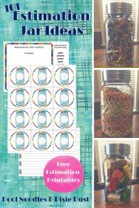 Free Estimation Jar Printables