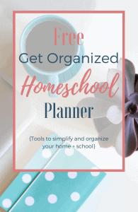 Free Get Organized Home & School Planner