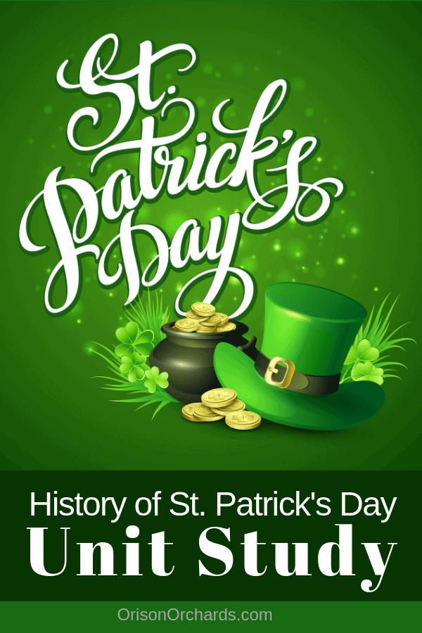 St. Patrick's Day Unit Study
