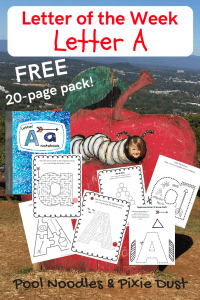 Free Letter A Printable Pack