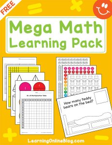 Mega Math Learning Pack