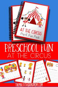 Preschool Circus Pack