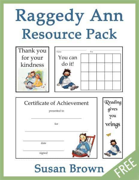 Free Raggedy Ann Printable Pack