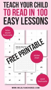 Teach Your Child to Read in 100 Easy Lessons Printables