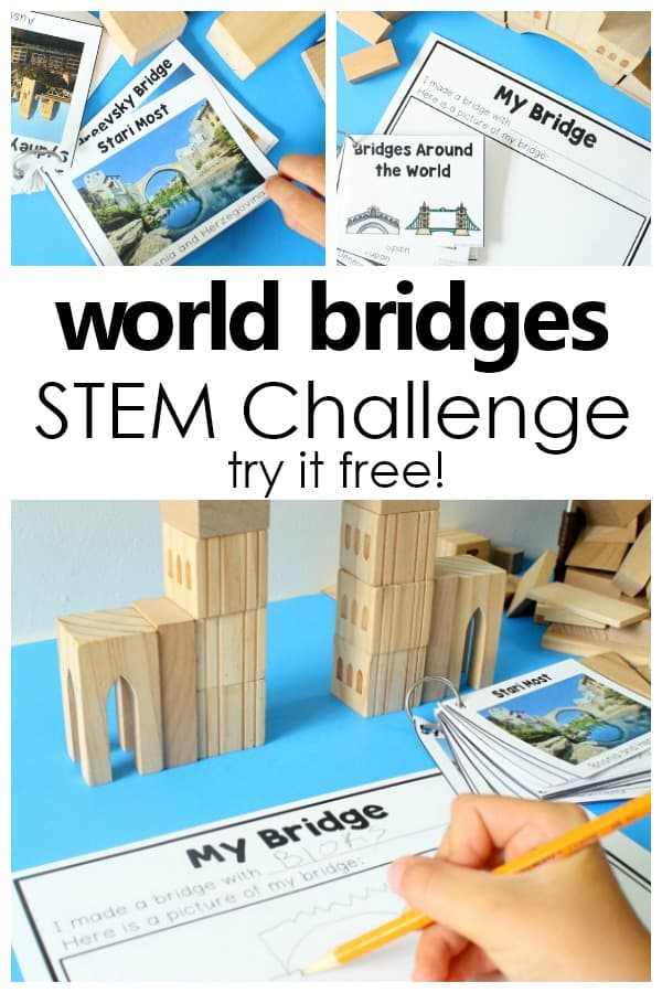 Free World Bridges STEM Set