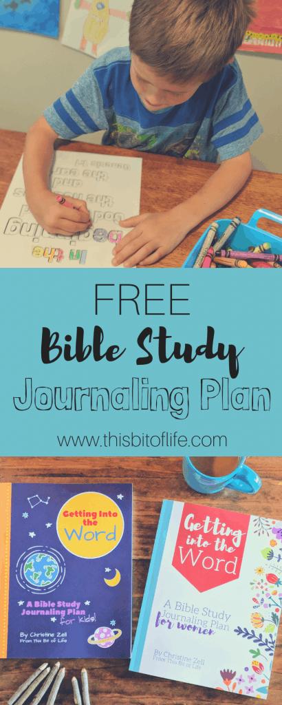 Free Bible Study Journals