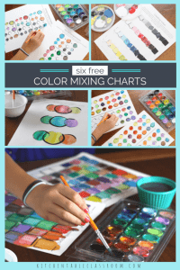 Free Color Mixing Charts