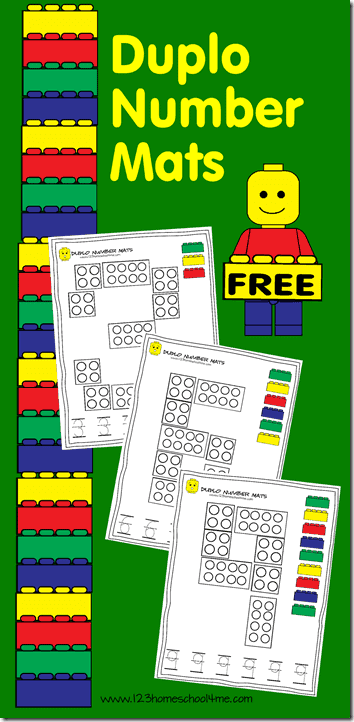 Free Number Building Mats