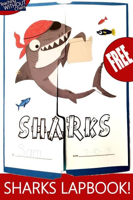 Free Shark Lapbook