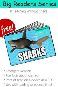 Free Shark Emergent Reader