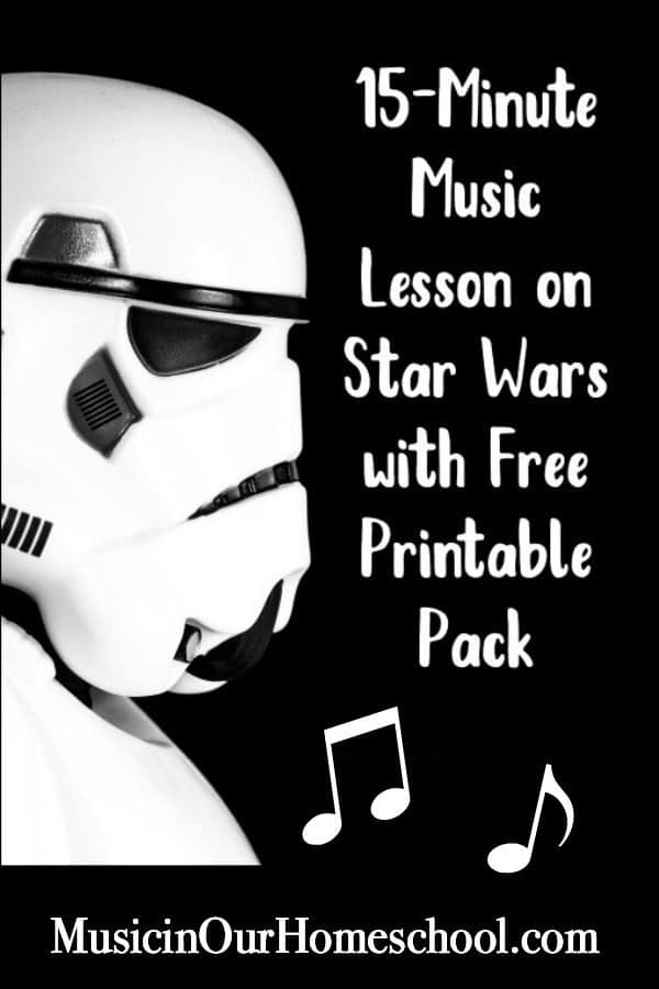 Star Wars Music Lesson Printable Pack