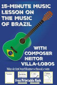 Music of Brazil Printable Pack