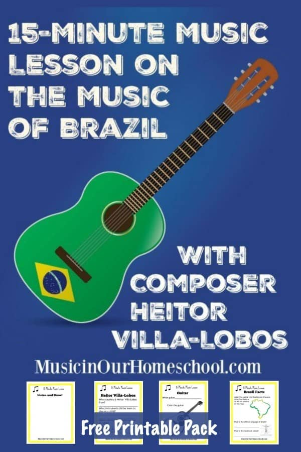 Music of Brazil Printable Pack