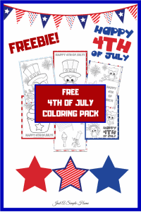 4th of July Coloring Book