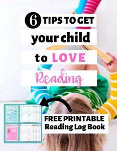 Free Reading Log Books