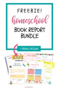 Printable Book Report Bundle