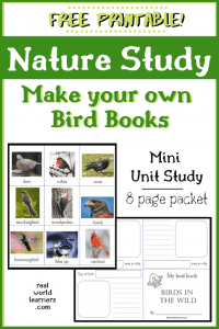 Free Nature Study Bird Books