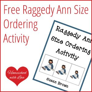 Raggedy Ann Size Ordering Cards