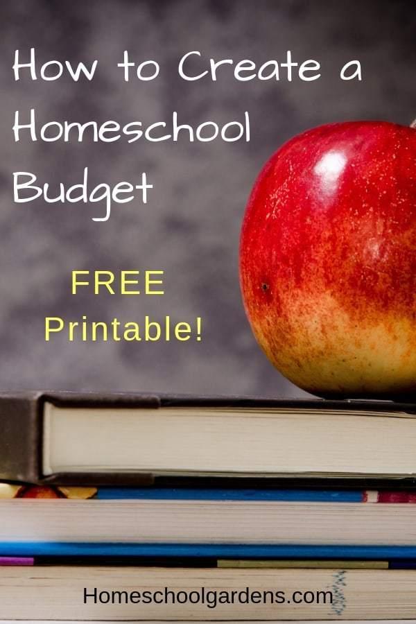 Homeschool Budget Planner