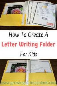 Letter Writing Folder Pack