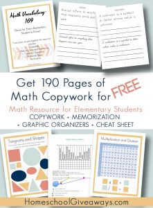 Elementary Math Reference Workbook