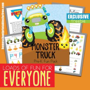 Monster Truck PreK Fun Pack Exclusive
